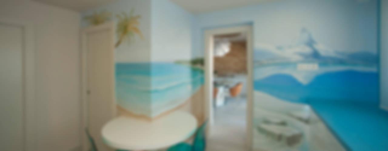 Casa en playa Mediterraneo de Artemark Global Moderno