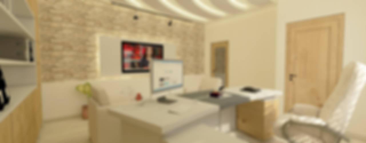 MİMARLIK OFİS TASARIMI Modern Çalışma Odası GÜNAY MİMARLIK Modern
