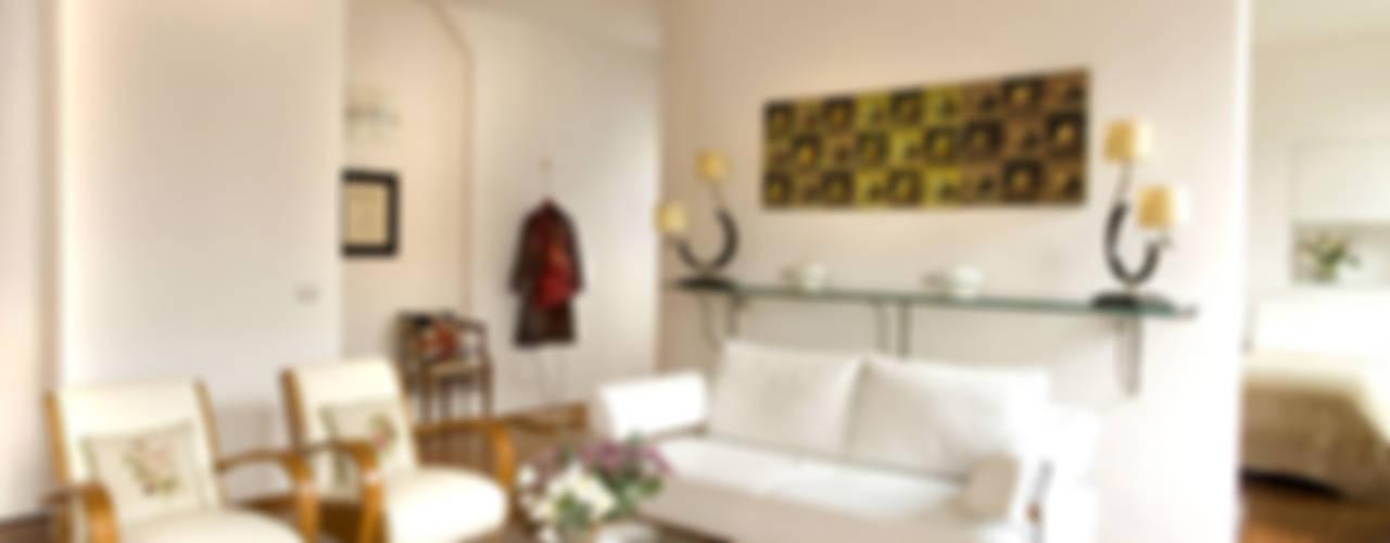 ห้องนั่งเล่น โดย Giandomenico Florio Architetto, โมเดิร์น