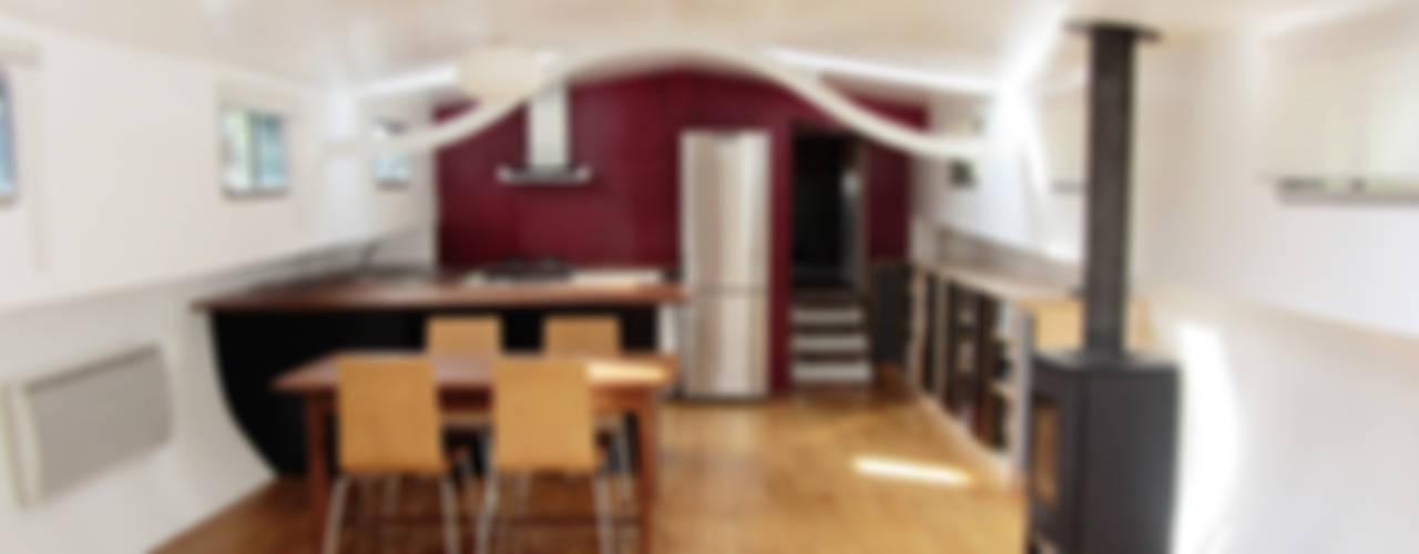 Projekty,  Salon zaprojektowane przez tina merkes architecte