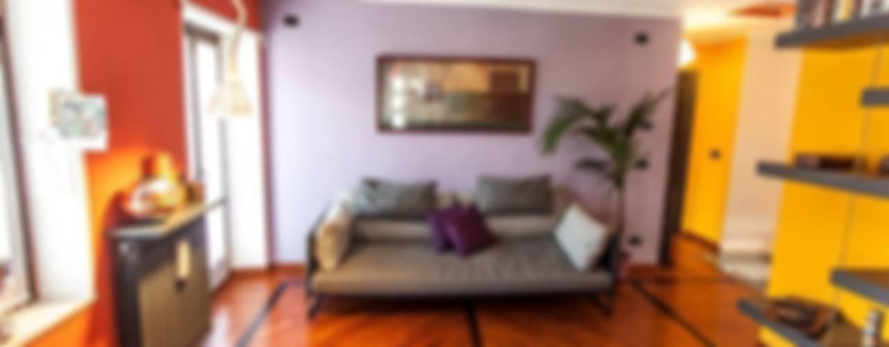 UAU un'architettura unica Modern living room