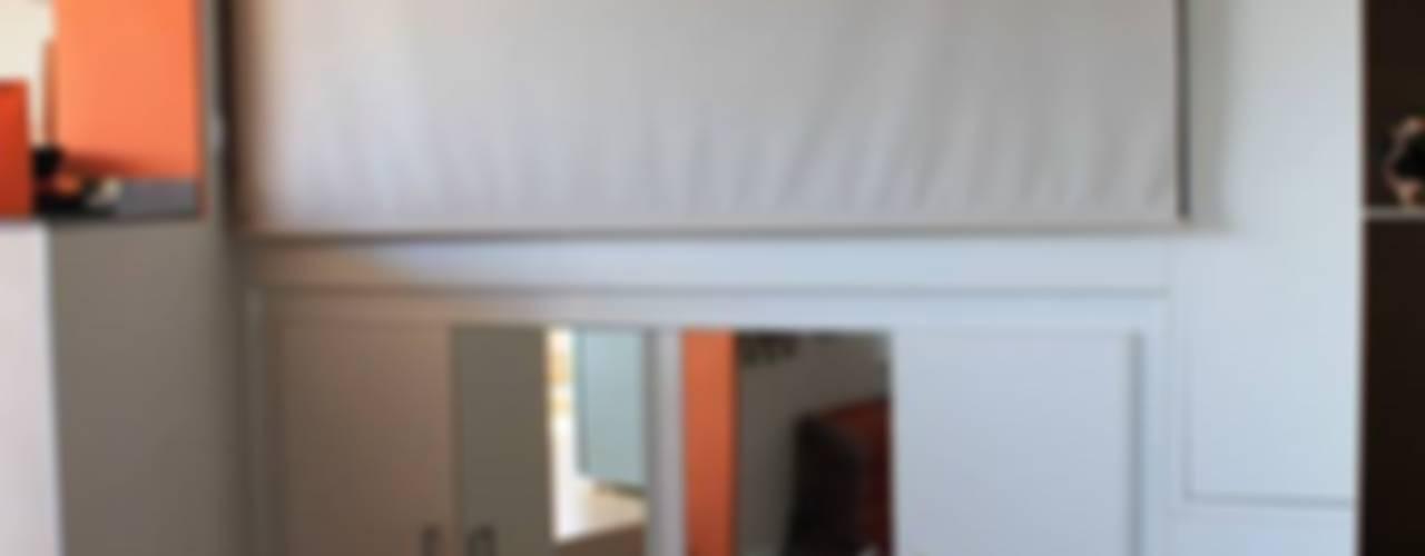Mini alloggio in Barcellona Camera da letto moderna di UAU un'architettura unica Moderno