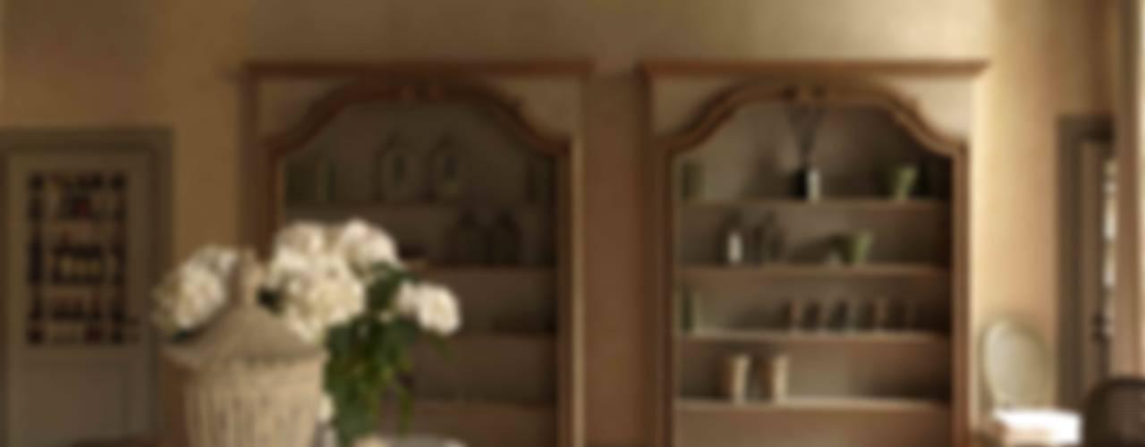 Antonio Lionetti Home Design 廚房收納櫃與書櫃