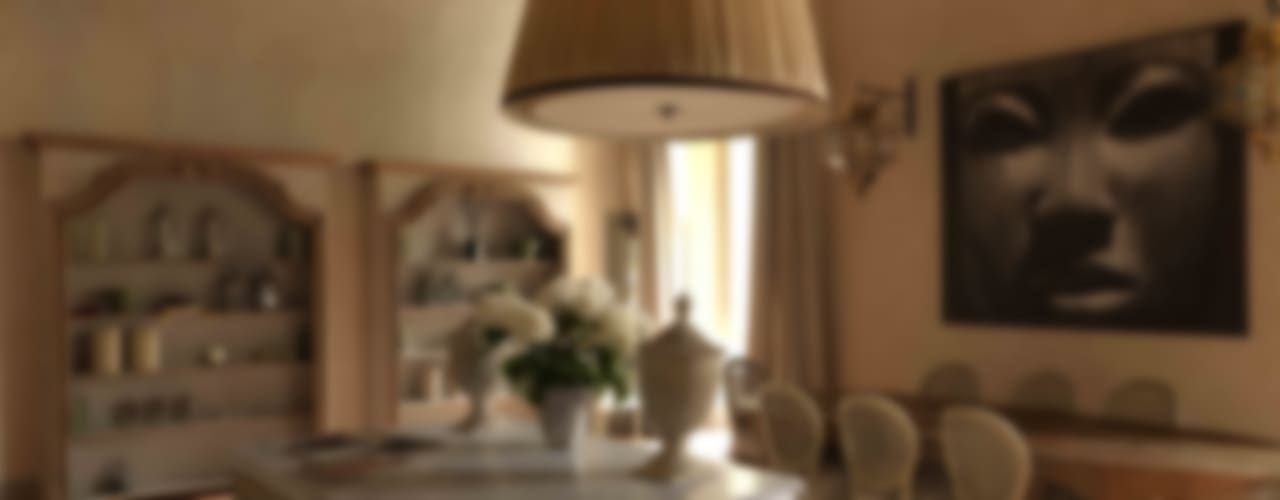 Antonio Lionetti Home Design 餐廳桌子