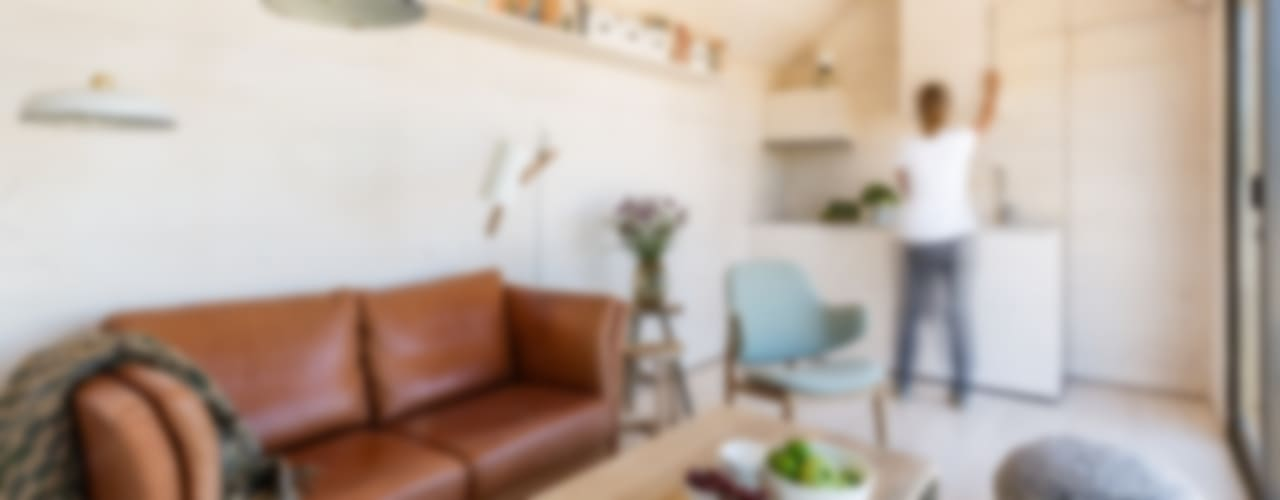 ÁBATON Arquitectura:  tarz Oturma Odası