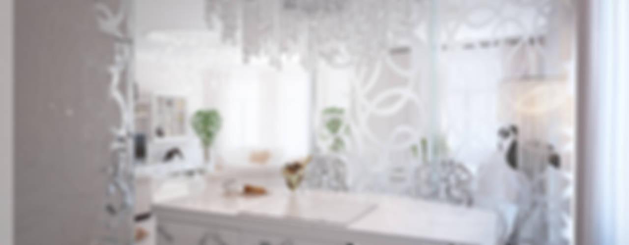 Роскошный Ар-деко Кухня в классическом стиле от премиум интериум Классический