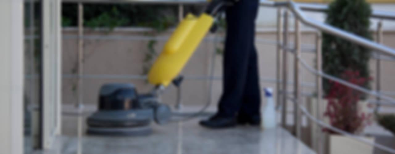 Paredes y pisos modernos de Puligaviota - Empresa de limpieza Moderno