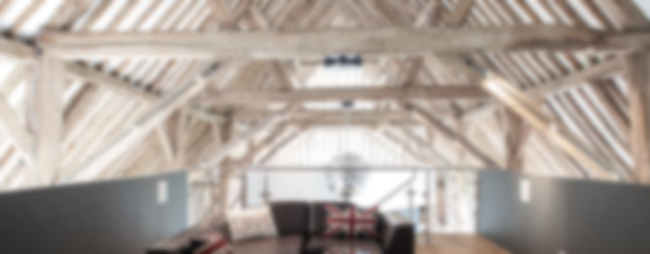 Photography - barn conversion in Sawbridgeworth Modern media room by Adelina Iliev Photography Modern