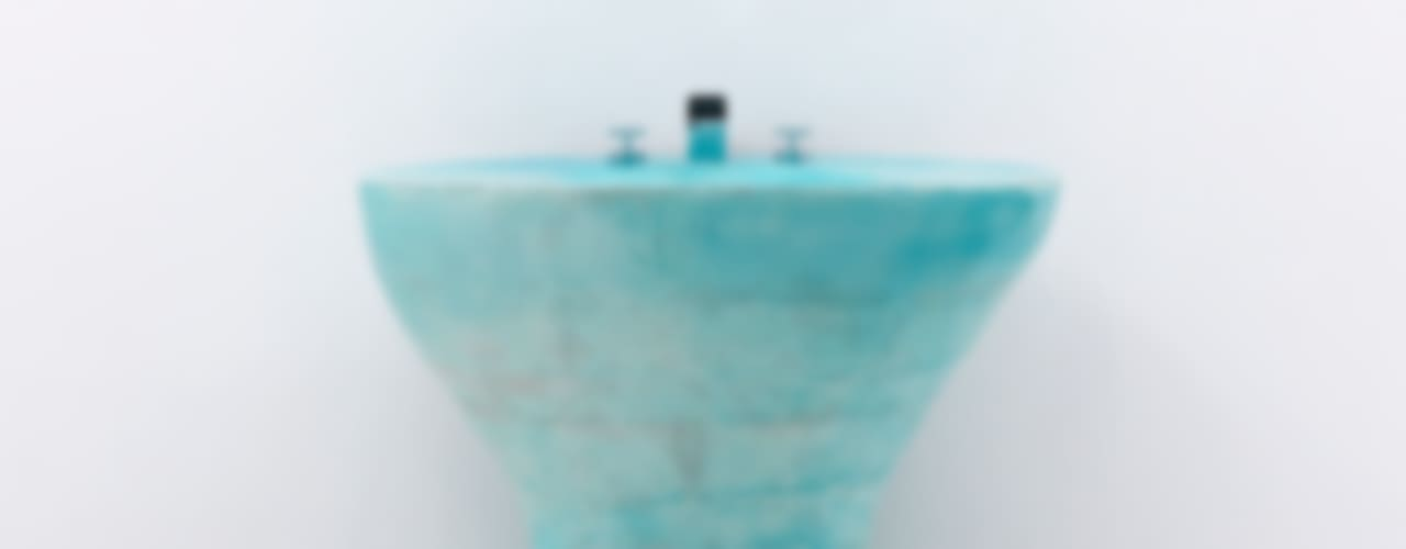 Sky blue Vanity Ceramic sink object: 이헌정의