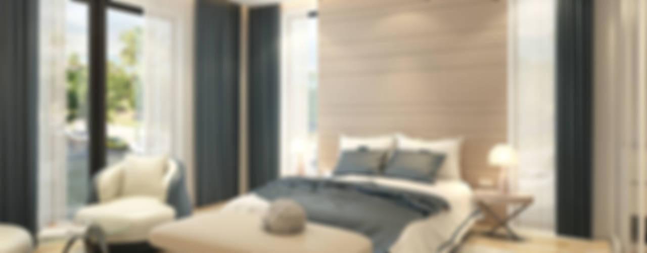 DE LIFE HOMES Modern Yatak Odası Çağrı Aytaş İç Mimarlık İnşaat Modern