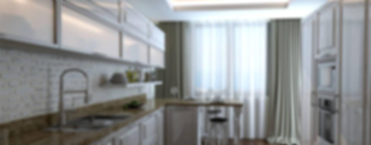 مطبخ تنفيذ Çağrı Aytaş İç Mimarlık İnşaat