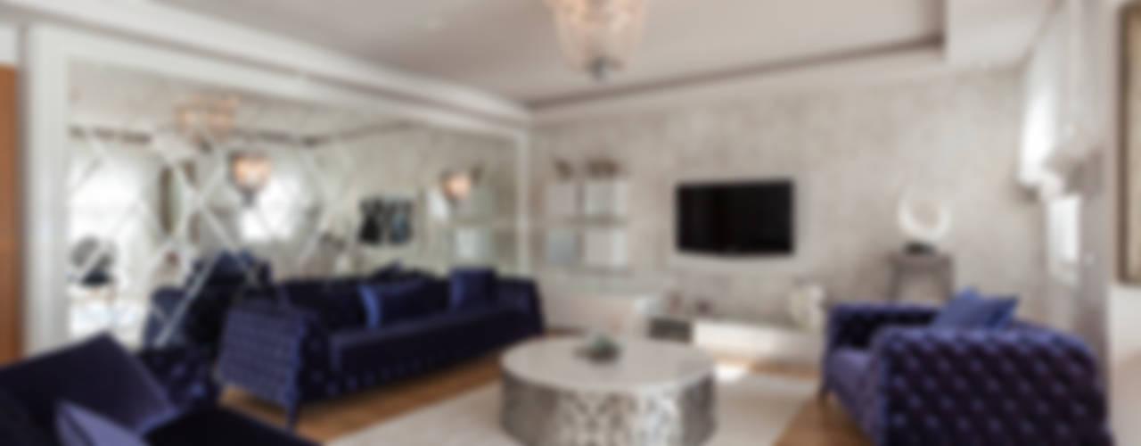 Modern Living Room by Mimoza Mimarlık Modern