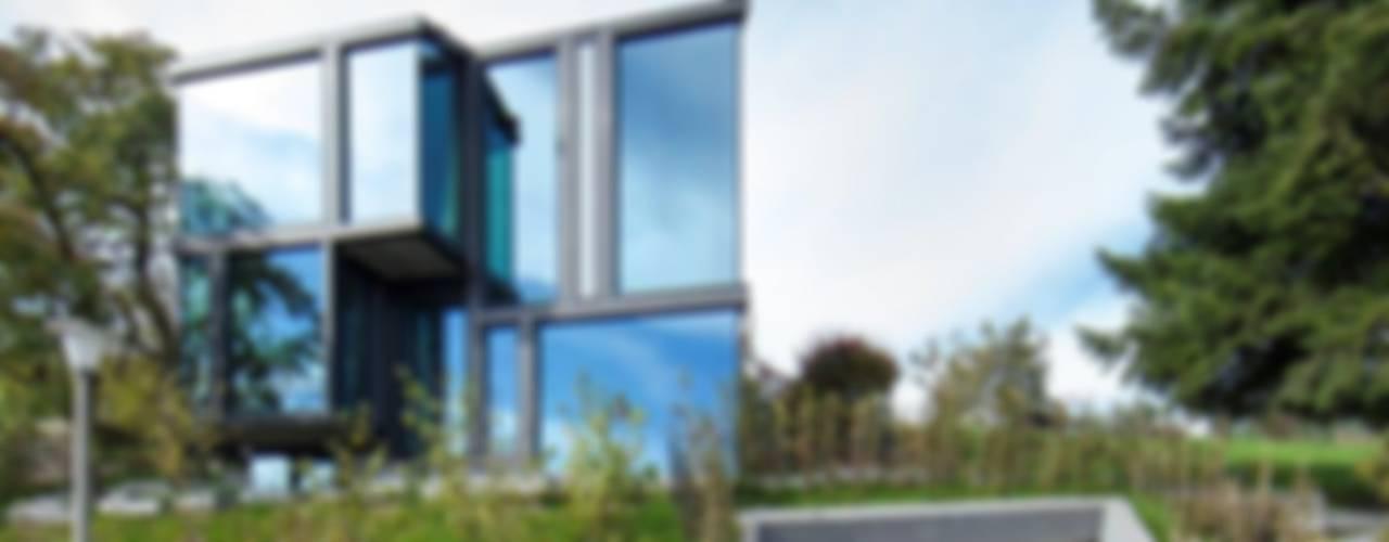 現代房屋設計點子、靈感 & 圖片 根據 L3P Architekten ETH FH SIA AG 現代風