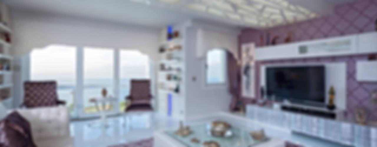 غرفة المعيشة تنفيذ Mimoza Mimarlık,