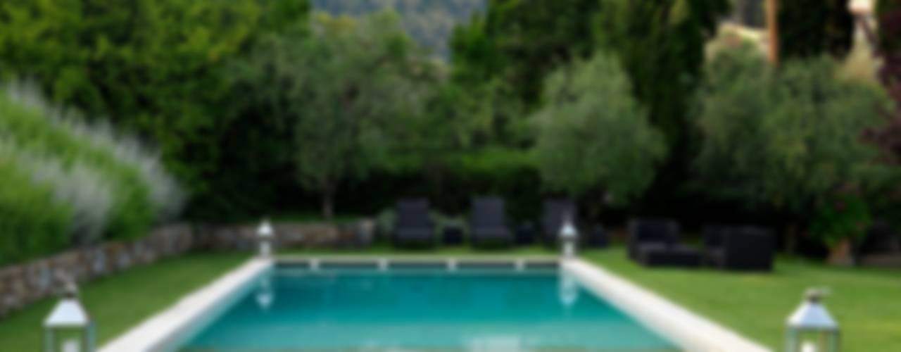Villa sulla collina di Fiesole di Antonio Lionetti Home Design Moderno