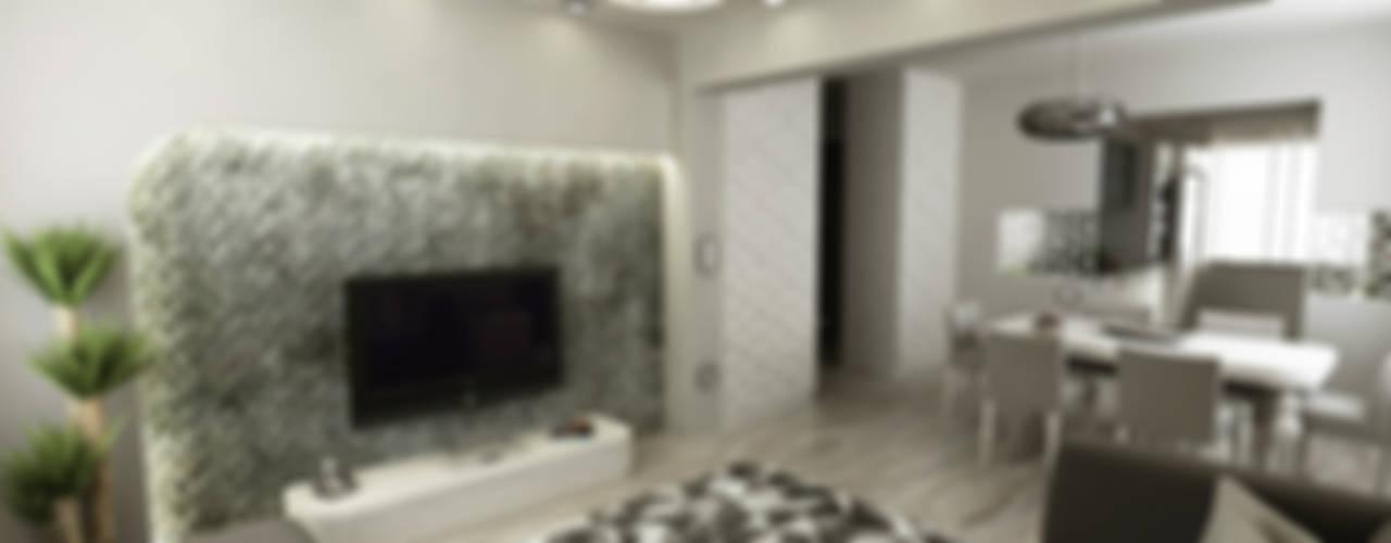 Niyazi Özçakar İç Mimarlık – N.Ö. EVİ:  tarz Oturma Odası