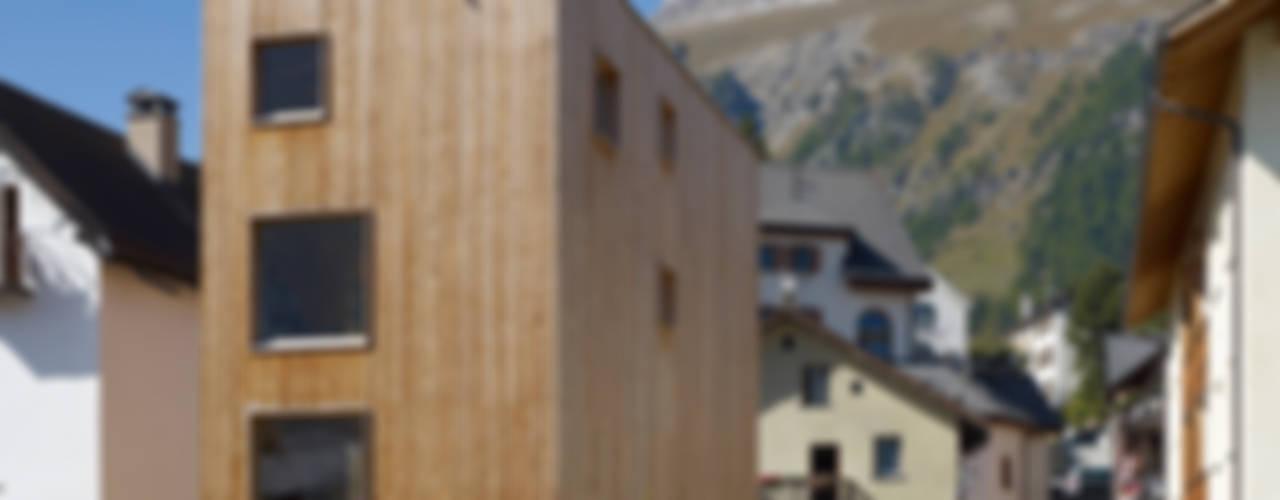 Haus Blarer CH-7503 Samedan Moderne Häuser von Blarer & Reber Architekten Modern