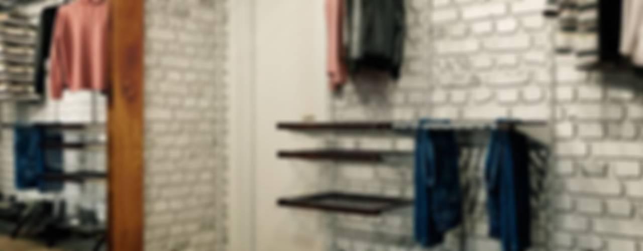 Каменный лофт Гардеробная в стиле лофт от CO:interior Лофт