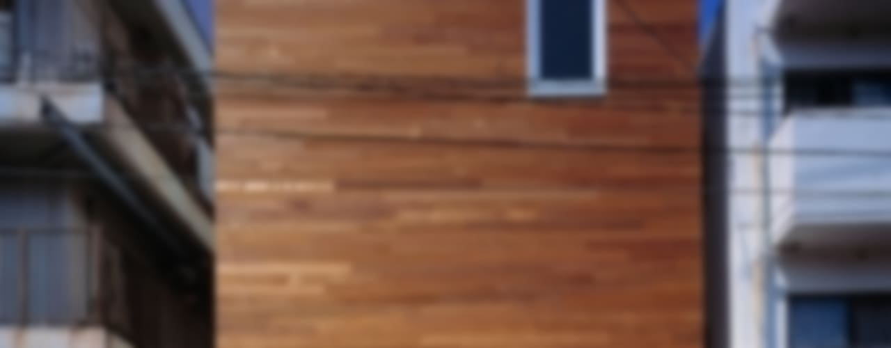 모던스타일 주택 by 有限会社アルキプラス建築事務所 모던