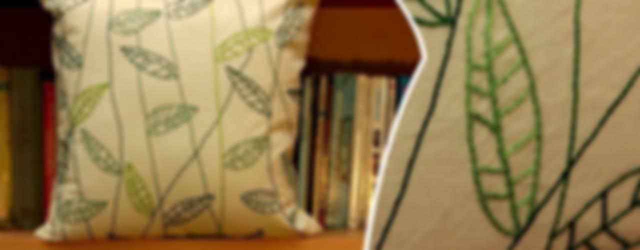 El nakışlı yastık - Makro serisi // Hand embroiedered pillow - Macro series Akdeniz Oturma Odası Cotton Hands Akdeniz