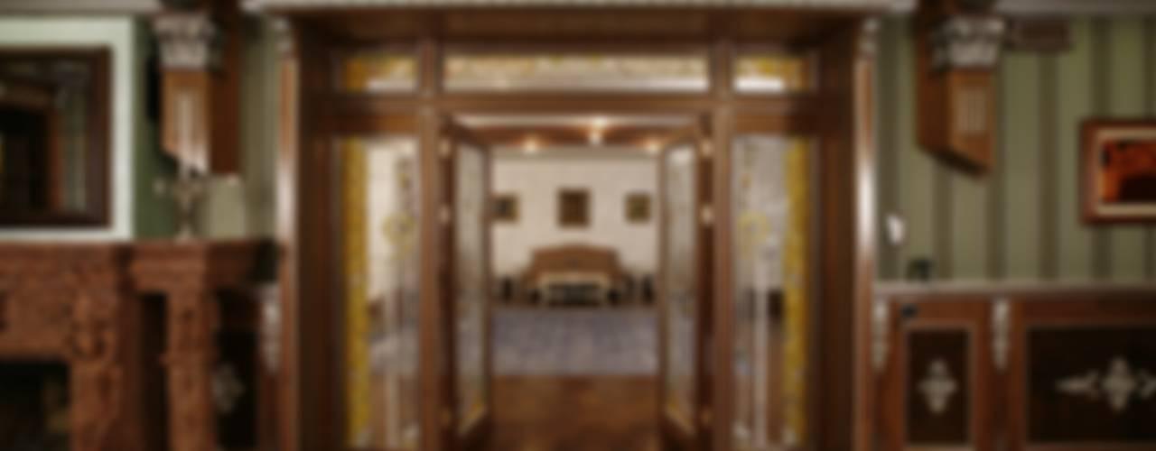 Загородная жизнь (дом 2000 кв.м.) Гостиная в классическом стиле от Дизайн интерьера Проценко Андрея Классический