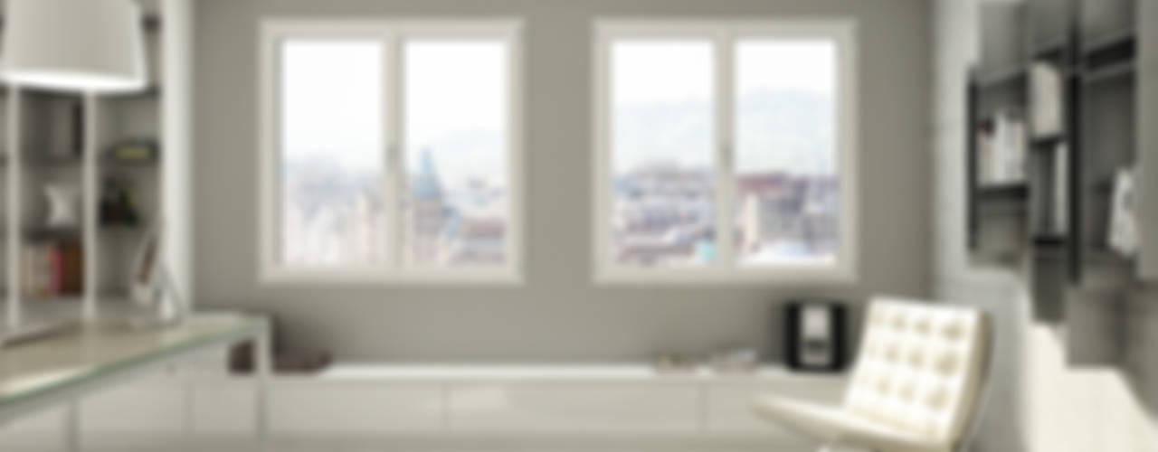 PROLUX Oknoplast Finestre in PVC PVC Bianco