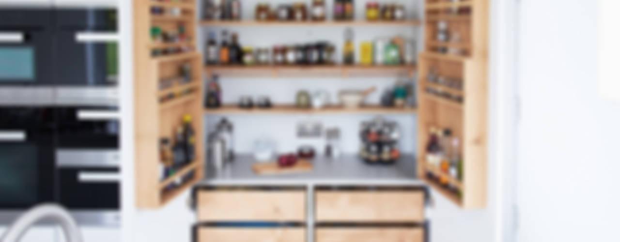 Bespoke Minimalist Kitchen By Luxmoore & Co ミニマルデザインの キッチン の Luxmoore & Co ミニマル