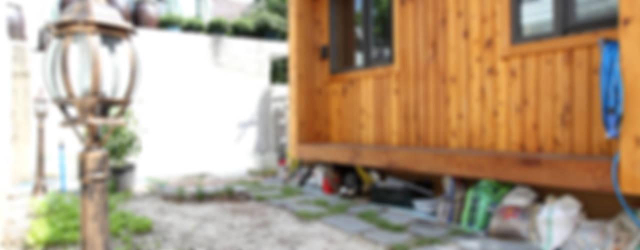 Garden by 주택설계전문 디자인그룹 홈스타일토토,