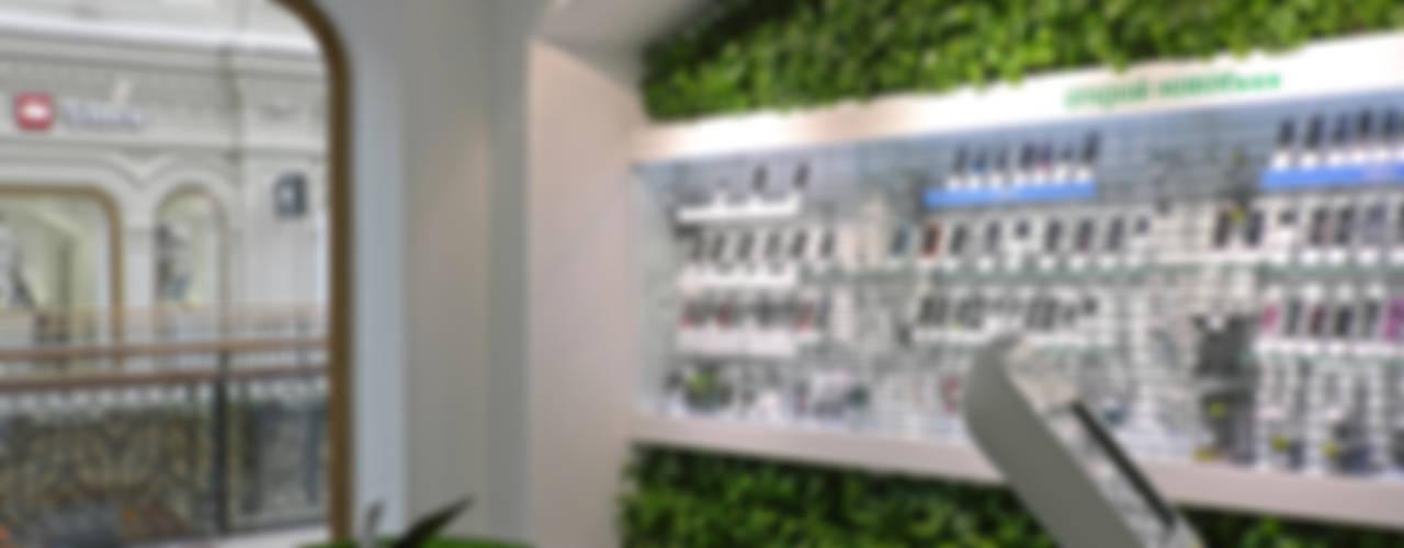 "Флагманский салон ""МегаФон"", ГУМ, Москва:  в современный. Автор – RaStenia, Модерн"