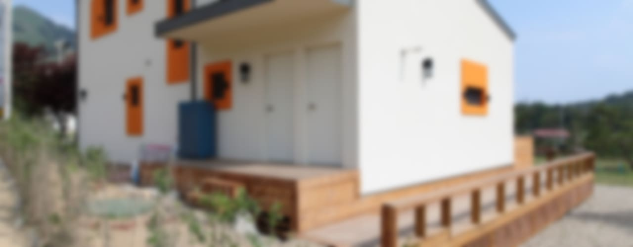 Casas  por 주택설계전문 디자인그룹 홈스타일토토