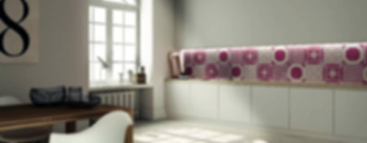 Le piastrelle sono multicolor e... patchwork! Cucina moderna di Ceramiche Addeo Moderno
