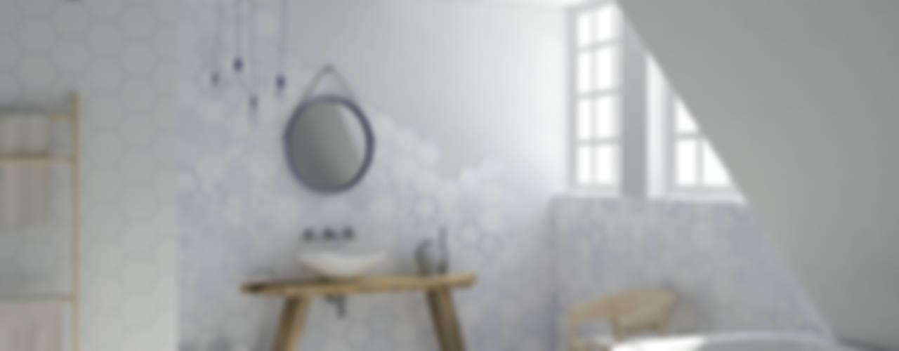 Projekty,  Łazienka zaprojektowane przez Ceramiche Addeo, Nowoczesny