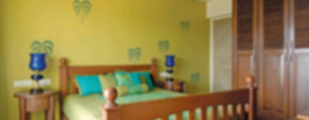Colourful Living The Orange Lane Modern style bedroom