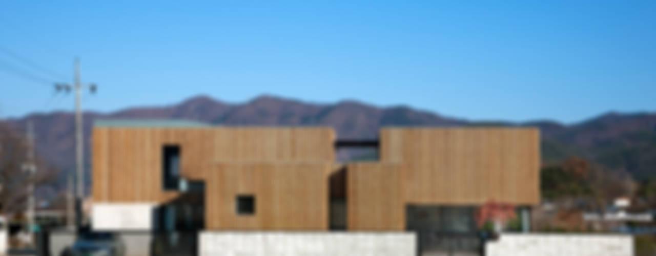 단산리주택 Dansanli House 모던스타일 주택 by ADF Architects 모던