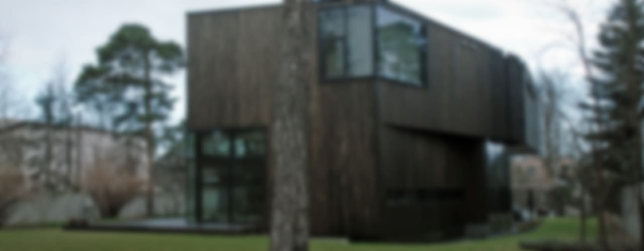 SDA - SZCZEŚNIAK DENIER ARCHITEKCI Casas de estilo minimalista