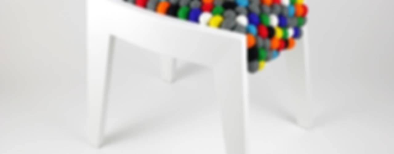 Taboret FELT 1.0: styl , w kategorii  zaprojektowany przez Marcin Skubisz Group