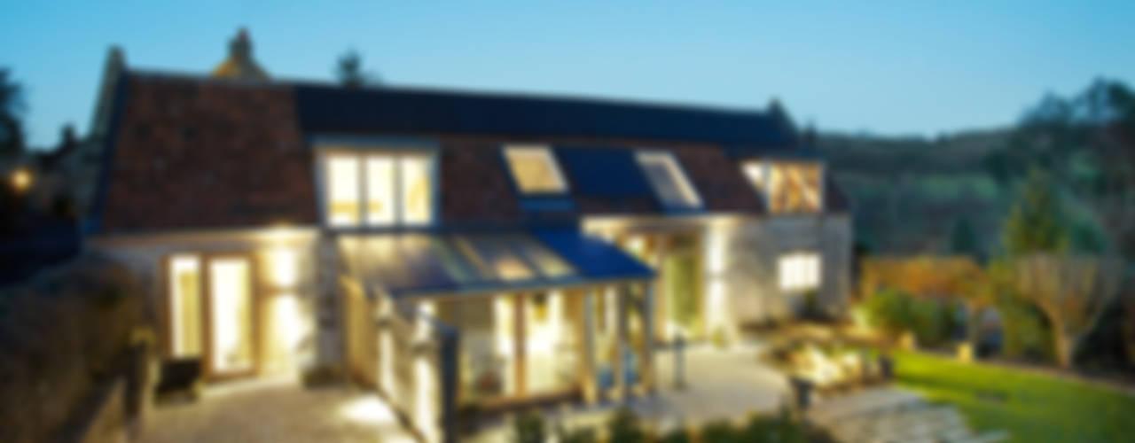 Sustainable Barn Conversion Maisons rurales par Hart Design and Construction Rural