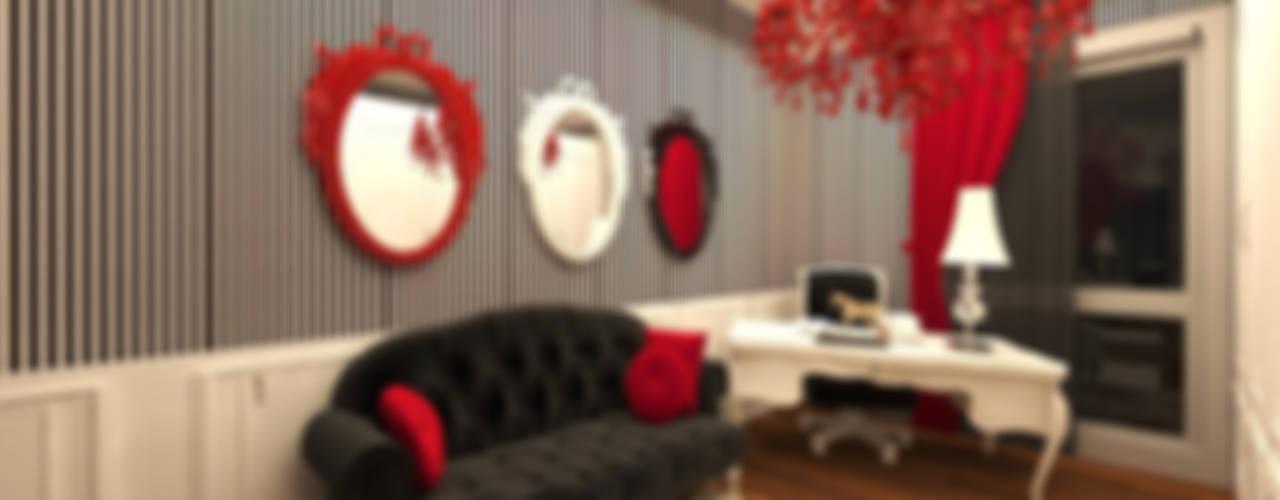 Meral Akçay Konsept ve Mimarlık – Feng Shui Uygulama:  tarz Çalışma Odası