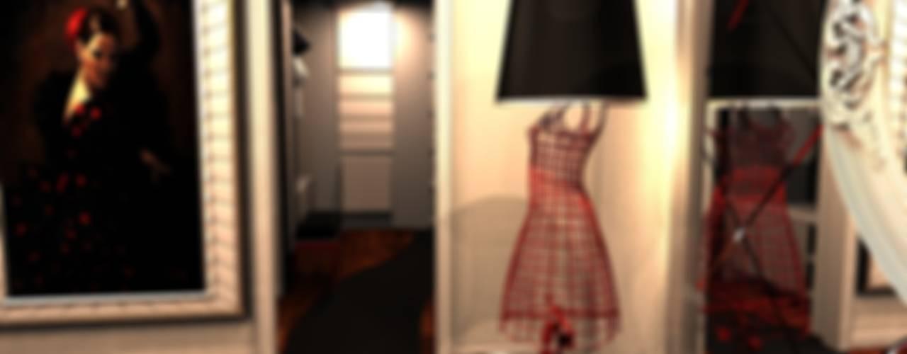 Feng Shui Uygulama Modern Giyinme Odası Meral Akçay Konsept ve Mimarlık Modern