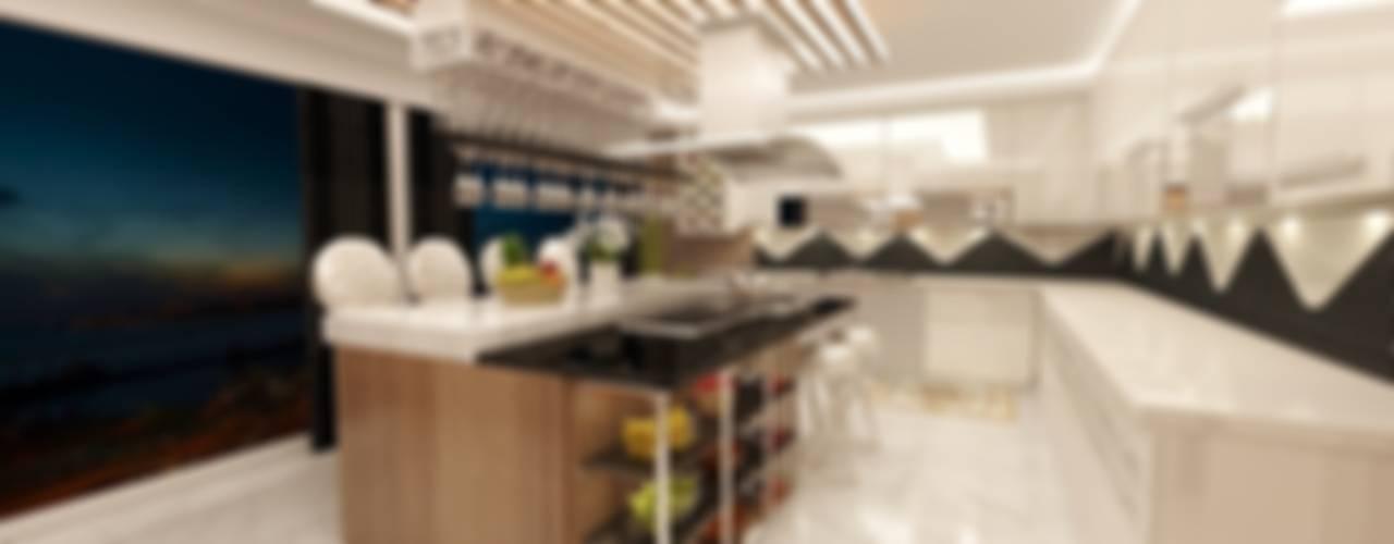 Meral Akçay Konsept ve Mimarlık – Feng Shui Uygulama:  tarz Mutfak