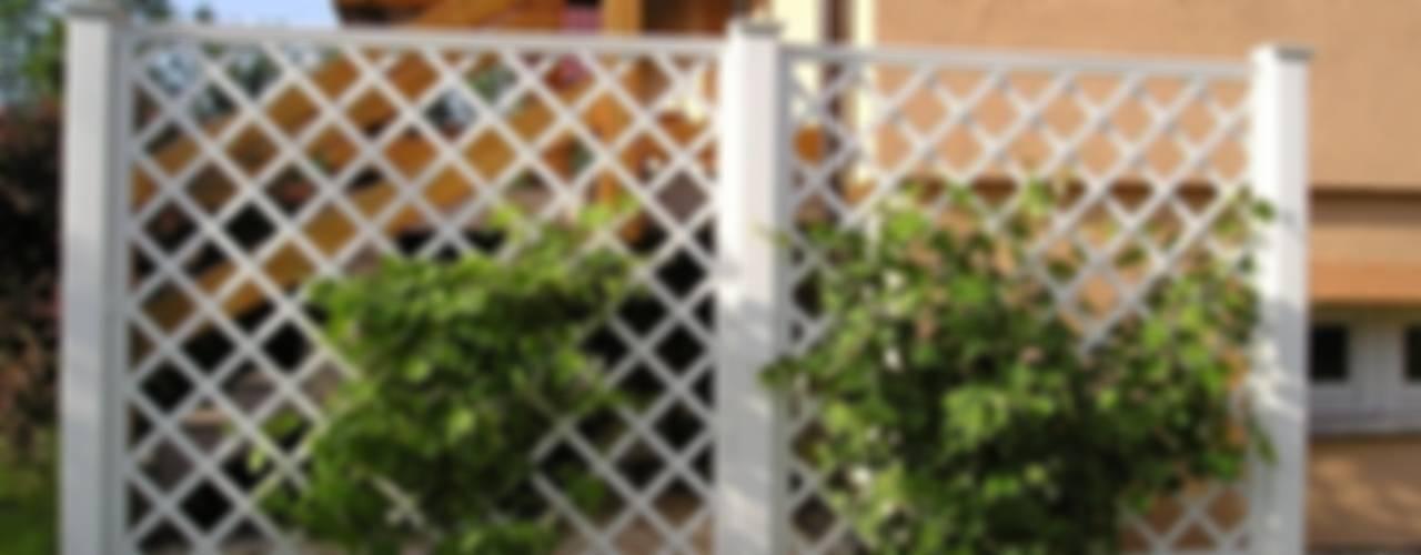 Kratki ogrodowe PCV Klasyczny ogród od Ogrodzenia PCV Klasyczny