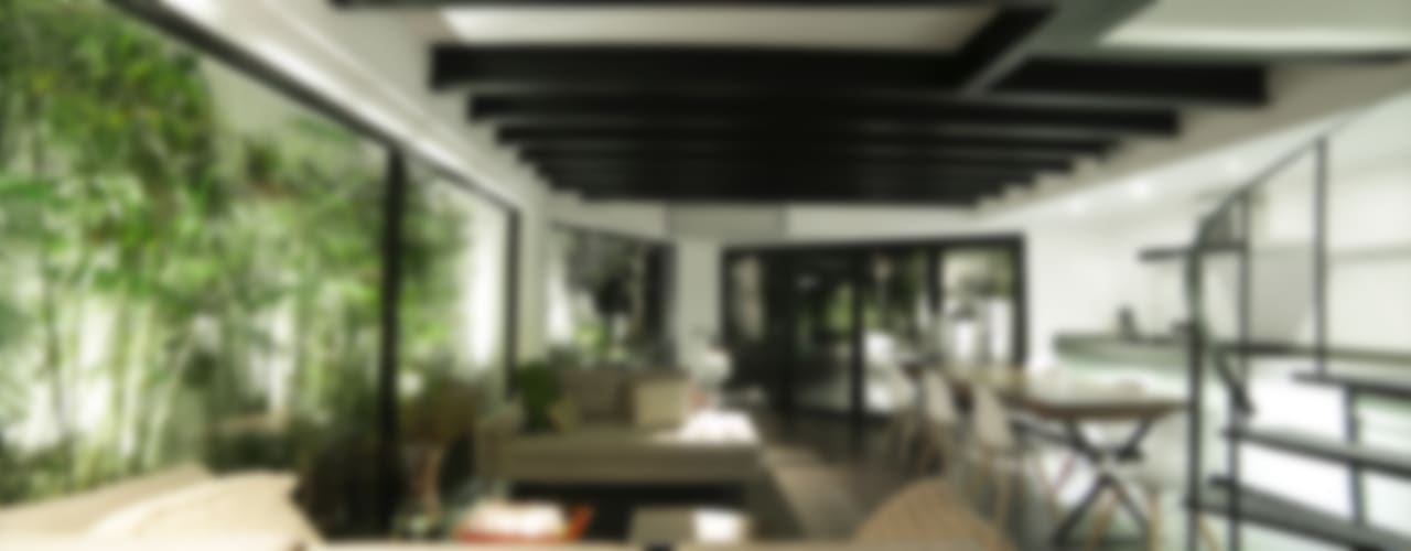 Living room by OneByNine, Minimalist