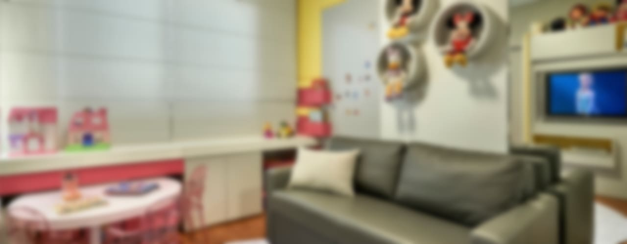 Apartamento Belvedere 2014:   por Gislene Lopes Arquitetura e Design de Interiores