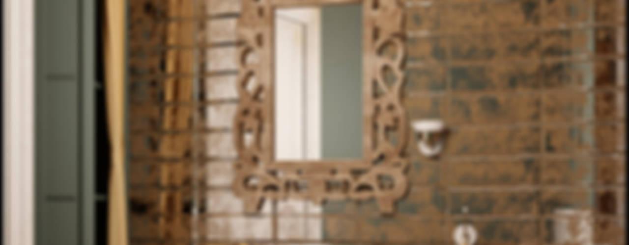Проекты ванной Ванная комната в стиле модерн от Частный дизайнер и декоратор Девятайкина Софья Модерн