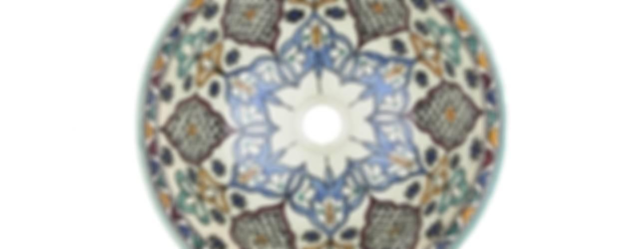 Kama - Orientalna umywalka arabska : styl , w kategorii  zaprojektowany przez Kolory Maroka