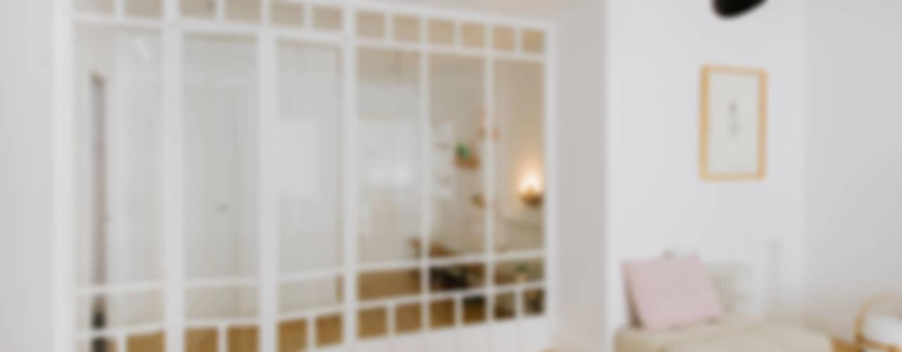 Vivienda zona Quevedo, Madrid Puertas y ventanas de estilo moderno de nimú equipo de diseño Moderno