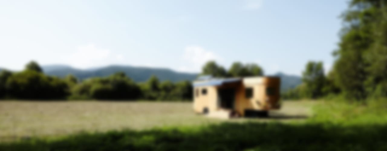 Moderne huizen van Wohnwagon Modern