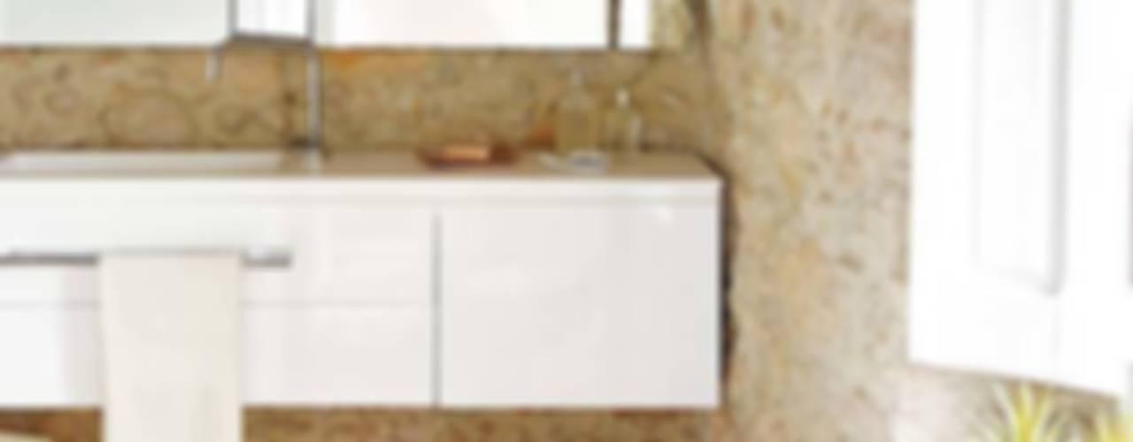 Cases Singular de l'Empordà - Albons Oli 22 Baños de estilo rústico de Tono Bagno Rústico