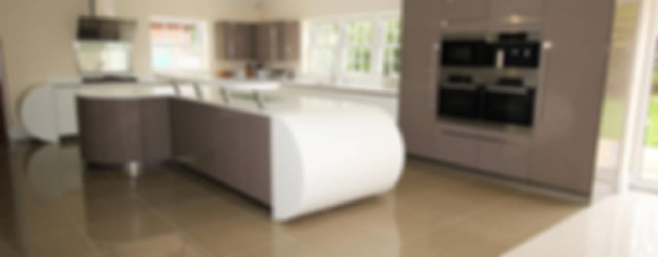 Gloss Kitchens Cocinas modernas: Ideas, imágenes y decoración de LWK London Kitchens Moderno