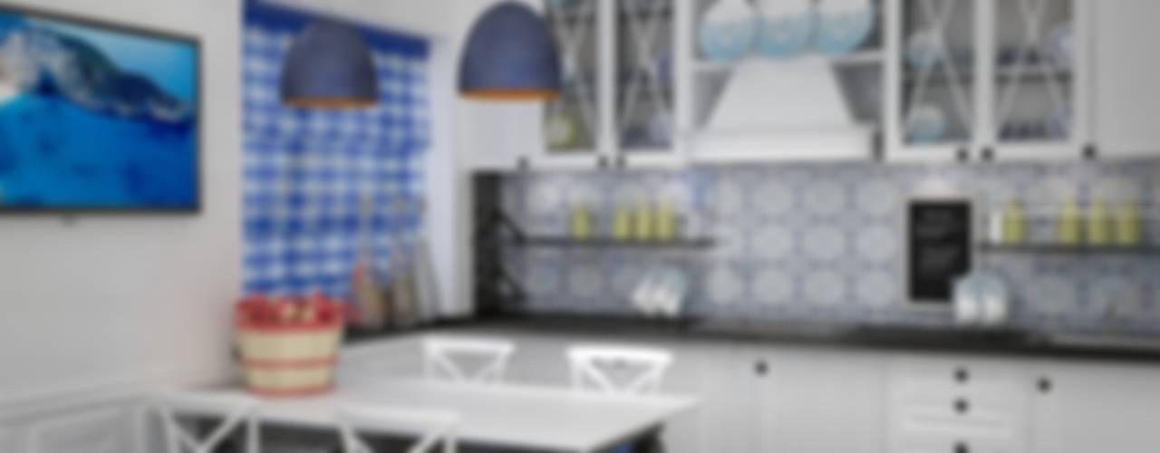 Квартира на ул.Мира Кухня в средиземноморском стиле от DS Fresco Средиземноморский